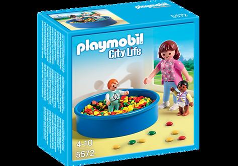 PLAYMOBIL 5572 CITY LIFE - Ball Pit