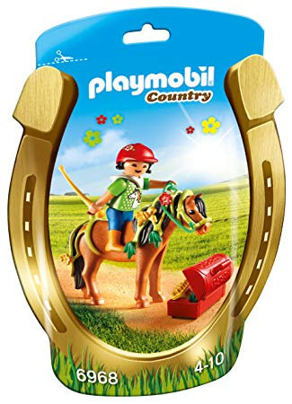 PLAYMOBIL 6968 COUNTRY - Groomer with Bloom Pony