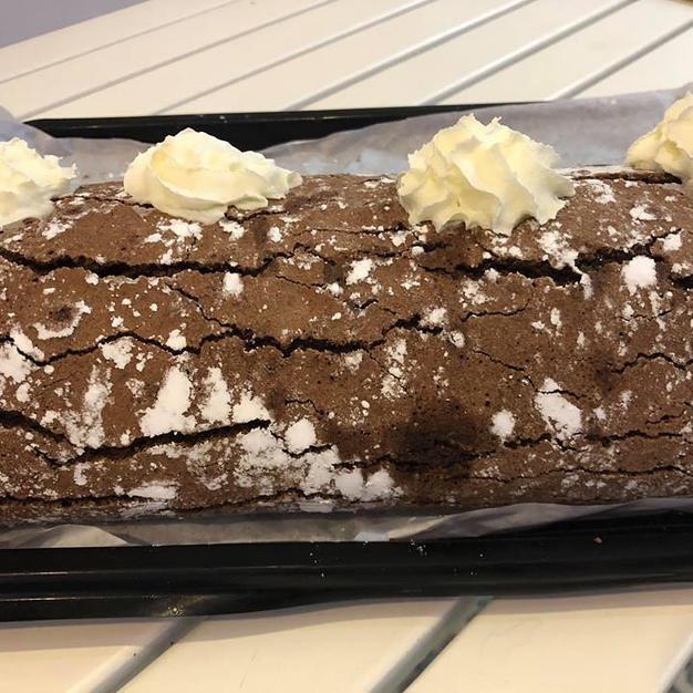 Homemade Chocolate Roulade