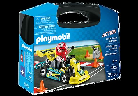 PLAYMOBIL 9322 ACTION - Go-Kart Racer Carry Case