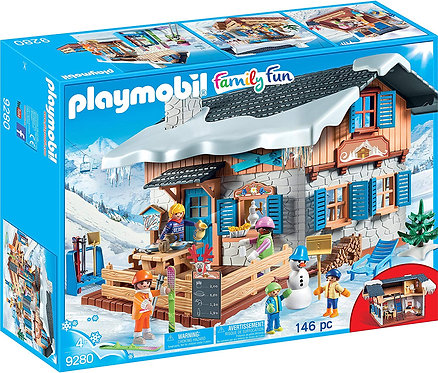 PLAYMOBIL 9280 FAMILY FUN - Ski Lodge