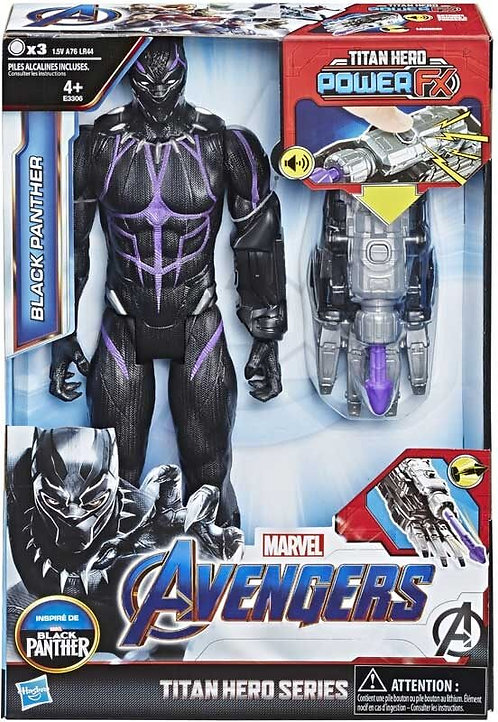 AVENGERS TITAN HERO POWER FX BLACK PANTHER (E3306)