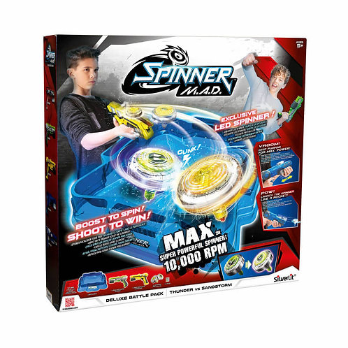 SPINNER M.A.D DELUXE BATTLE PACK (7530-86331)