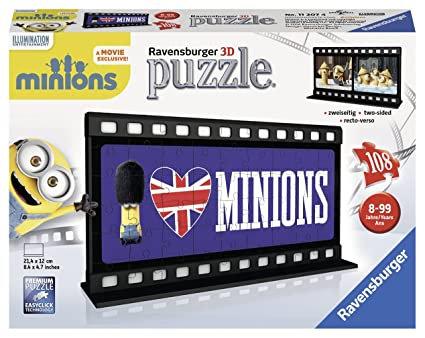 FILM STRIP 108 PCS MINIONS LONDON