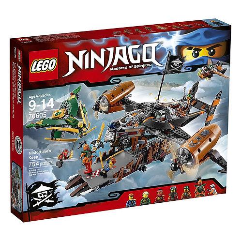 LEGO 70605 NINJAGO - Misfortune's Keep