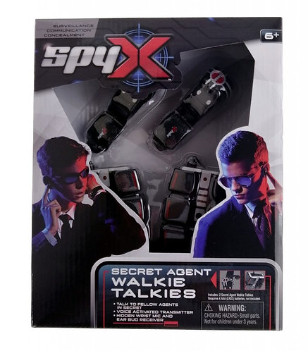 SPY X SECRET AGENT WALKIE TALKIE