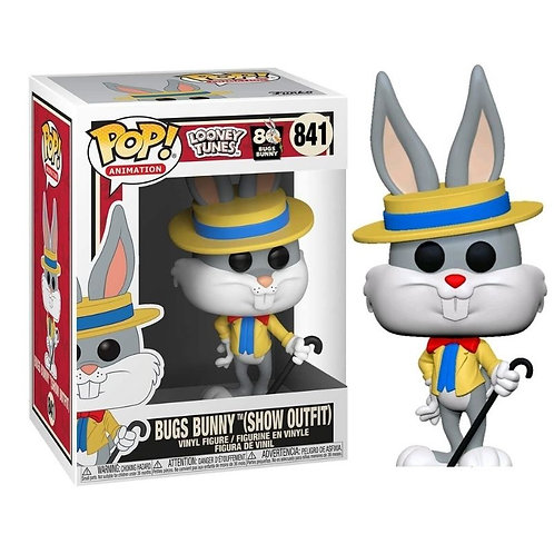 FUNKO POP! ANIMATION: LOONEY TUNES - BUGS BUNNY IN SHOW OUTFIT #841