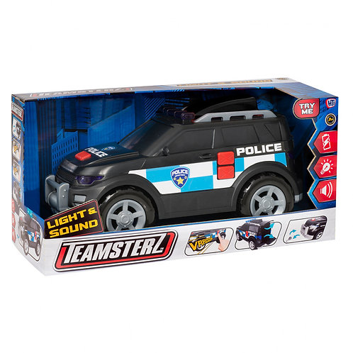 TEAMSTERZ LARGE POLICE VEHICLE WITH LIGHTS & SOUNDS