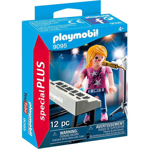 PLAYMOBIL 9095 SPECIAL PLUS - Singer with Keyboard