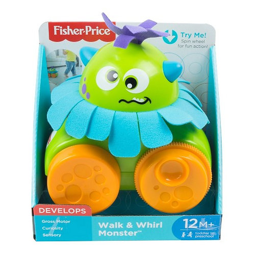 Fisher-Price Walk and Whirl Monster