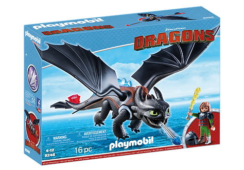 PLAYMOBIL 9246 DRAGONS - Hiccup & Toothless