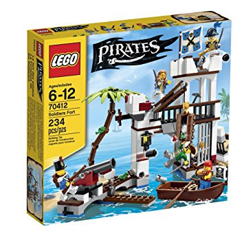 LEGO 70412 PIRATES - Soldiers Fort