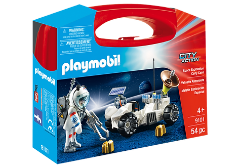 PLAYMOBIL 9101 CITY ACTION - Space Exploration Carry Case