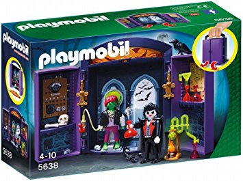 PLAYMOBIL 5638 Haunted House Play Box