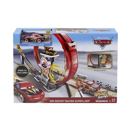 MATTEL - CARS XRS ROCKET RACING SUPER LOOP (GJW44)