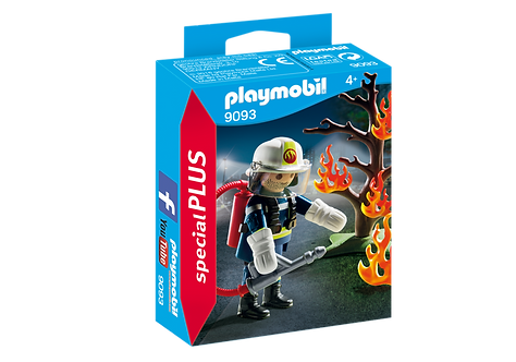 PLAYMOBIL 9093 SPECIAL PLUS - Firefighter with Tree