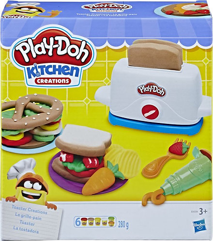PLAY-DOH TOASTER CREATIONS (E0039)