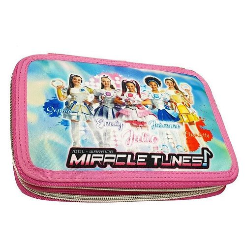 MIRACLE TUNES DOUBLE PENCIL CASE