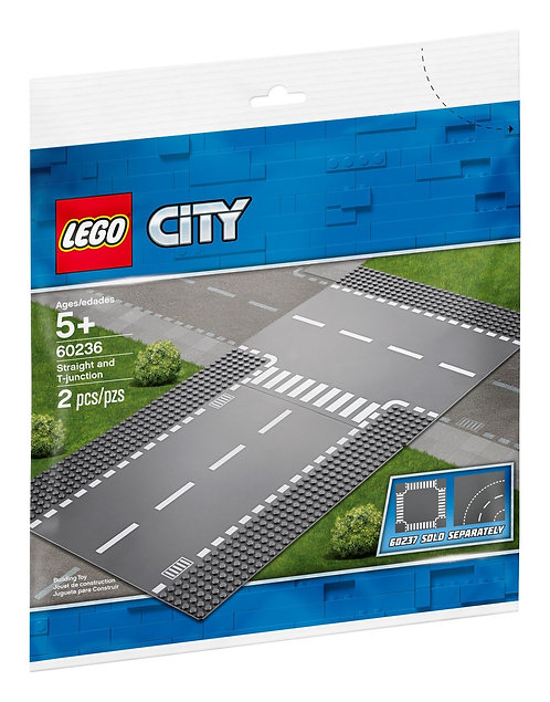 LEGO 60236 CITY - Straight and T-junction