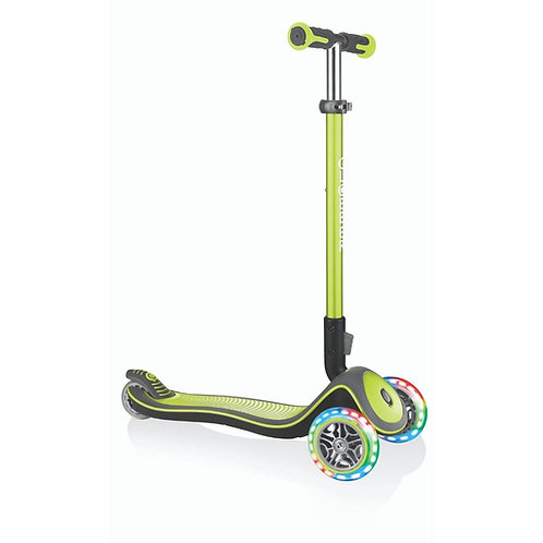 GLOBBER SCOOTER ELITE DELUXE LIME GREEN (444-406)