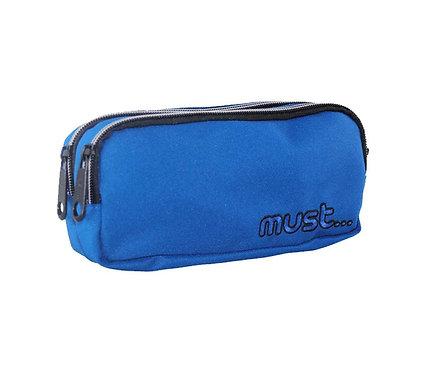 MONOCHROME BLUE PENCIL CASE MUST