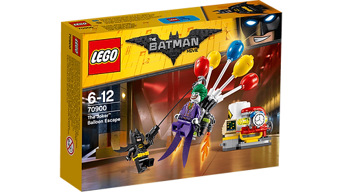 LEGO 70900 BATMAN - The Joker™ Balloon Escape