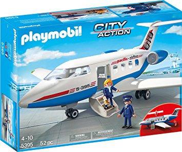 PLAYMOBIL 5395 CITY ACTION - Passenger Plane