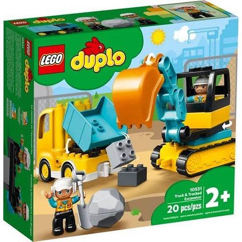 LEGO 10931 DUPLO - truck &Tracked Excavator