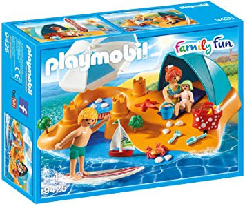 PLAYMOBIL 9425 FAMILY FUN - Family at the Beach