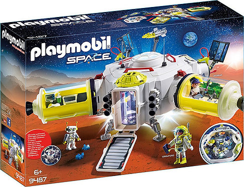 PLAYMOBIL 9487 SPACE - Mars Space Station