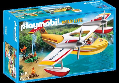 PLAYMOBIL 5560 WILD LIFE - Firefighting Seaplane