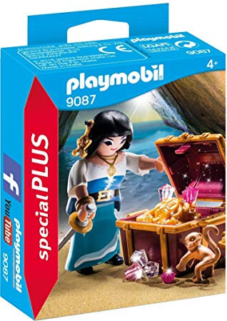PLAYMOBIL 9087 SPECIAL PLUS - Pirate with Treasure