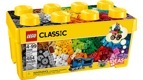 LEGO 10696 CLASSIC - Medium Creative Brick Box