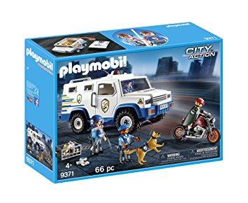 PLAYMOBIL 9371 CITY ACTION - Money Transport Vehicle