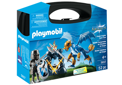 PLAYMOBIL 5657 KNIGHTS - Dragon Knights Carry Case