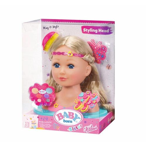 ZAPF BABY BORN STYLING HEAD (824788)