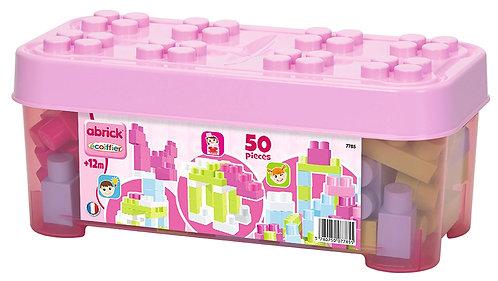 Maxi Abrick 50 pieces pink case