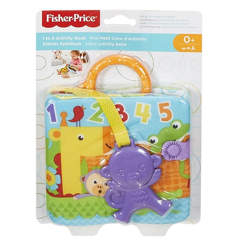 FISHER-PRICE 1 TO 5 ACTIVITY BOOK (FGJ40)