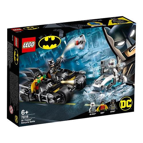 LEGO 76118 BATMAN - Mr. Freeze™ Batcycle™ Battle