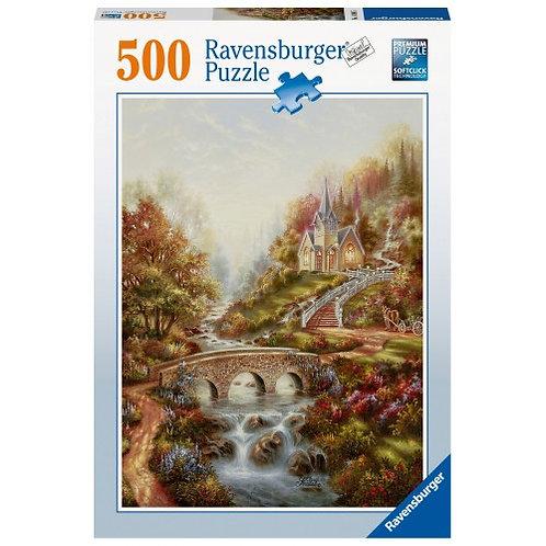 RAVENSBURGER 500 PCS PUZZLE GOLDEN HOUR