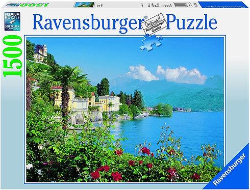 PUZZLES 1500PCS LAKE MAGGIORE, ITALY