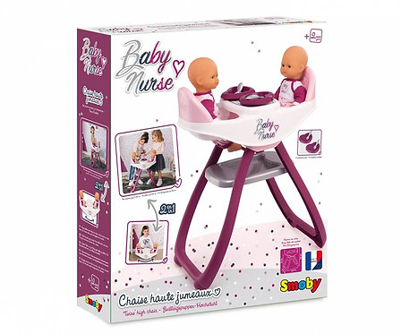 SMOBY - BN TWIN HIGHCHAIR (7/220344)