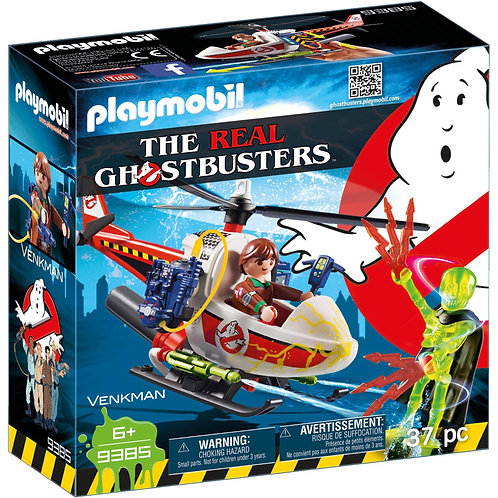 PLAYMOBIL 9385 GHOSTBUSTERS - Venkman with Helicopter