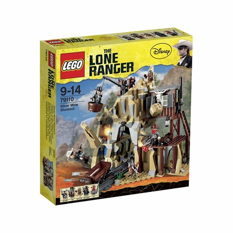LEGO 79110 THE LONE RANGER - Silver Mine Shootout