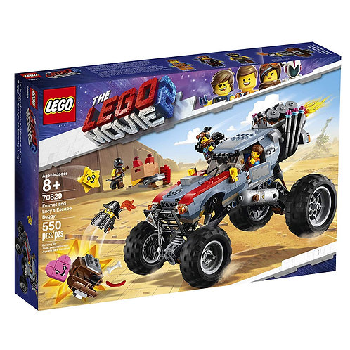 LEGO 70829 THE LEGO MOVIE 2 - Emmet and Lucy's Escape Buggy!