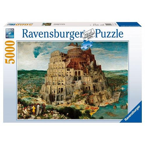 PUZZLES 5000PCS BRUEGEL: THE TOWER OF BABEL