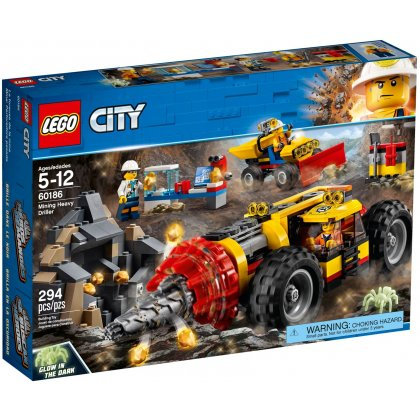 LEGO 60186 CITY - Mining Heavy Driller