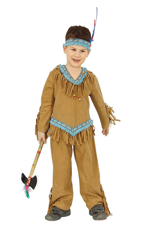 CARNIVAL COSTUME INDIAN BOY