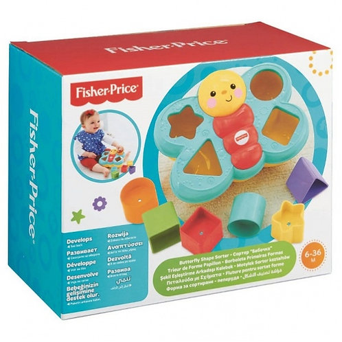 Fisher-Price Butterfly Shape sorter (CDC22)