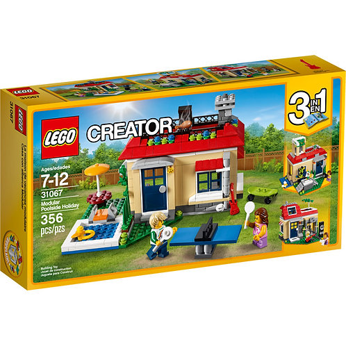 LEGO 31067 CREATOR - Modular Poolside Holiday Set